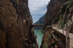 La guinda final es el puente colgante, que marca el final de la ruta por el desfiladero de los Gaitanes