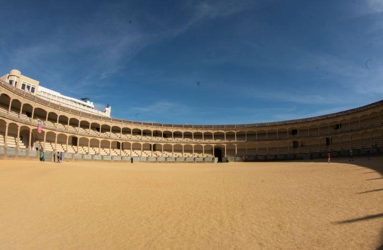 La Plaza de Toros de Ronda: su ruedo es el más grande del mundo