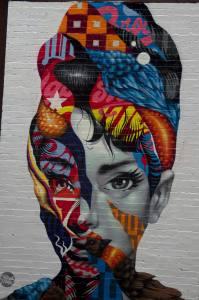 Graffitti en Little Italy, Nueva York