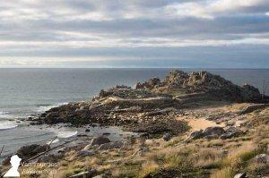 El Castro de Baroña en la costa de Arousa Norte, Galicia