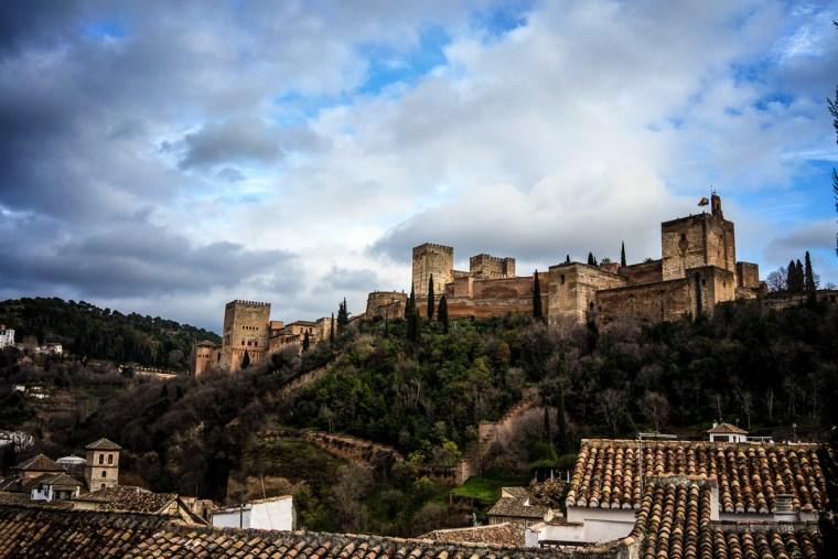 La Alhambra desde el mirador de San Nicolás, Granada