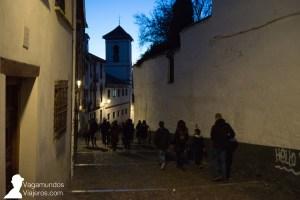 Última noche del año en Granada
