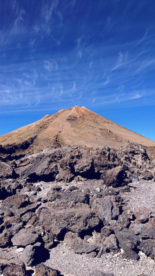 Vista del pico Teide desde La Rambleta