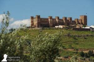 El castillo de Burgalimar, en el punto más alto de Baños de la Encina
