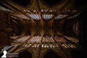 La Catedral de León tiene 1.500 metros cuadrados de vidrieras