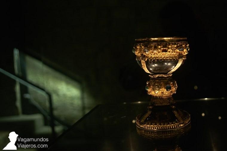 El cáliz de doña Urraca, la joya del museo de San Isidoro en León