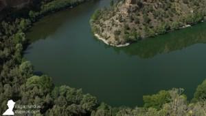 El río Duratón forma las hoces a su paso por Segovia