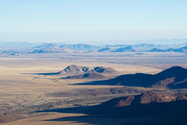 Vuelo en globo desde Solitaire sobre el desierto de Namibia