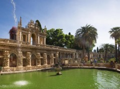 Jardines del Real Alcázar de Sevilla (reconocibles para los fans de Juego de Tronos como Dorne)