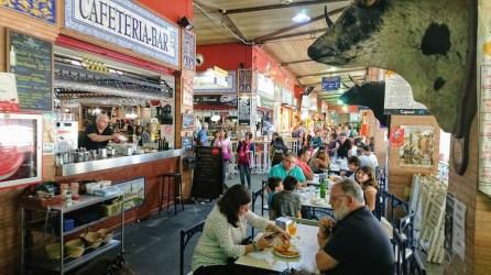 Bares dentro del Mercado de Triana, Sevilla