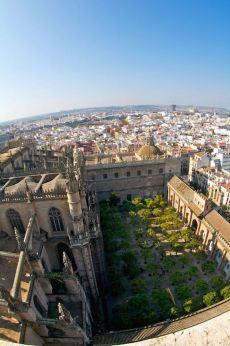 Vistas de Sevilla desde la torre de la Giralda