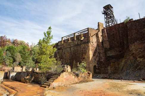 La mina Peña de Hierro en Riotinto, Huelva