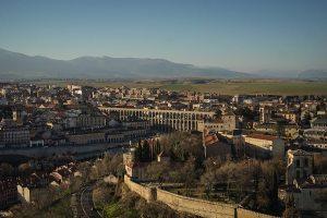 El acueducto romano de Segovia