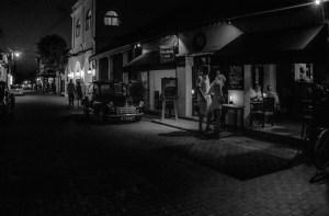 Pasear de noche por Galle, en Sri Lanka, es muy tranquilo