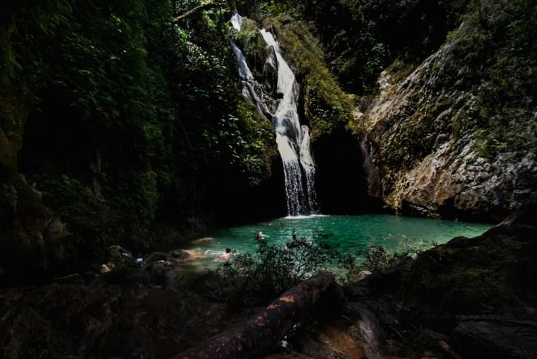 Cascada de Vega Grande en Topes de Collantes, Cuba