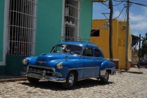 Las coloridas calles de Trinidad, Cuba