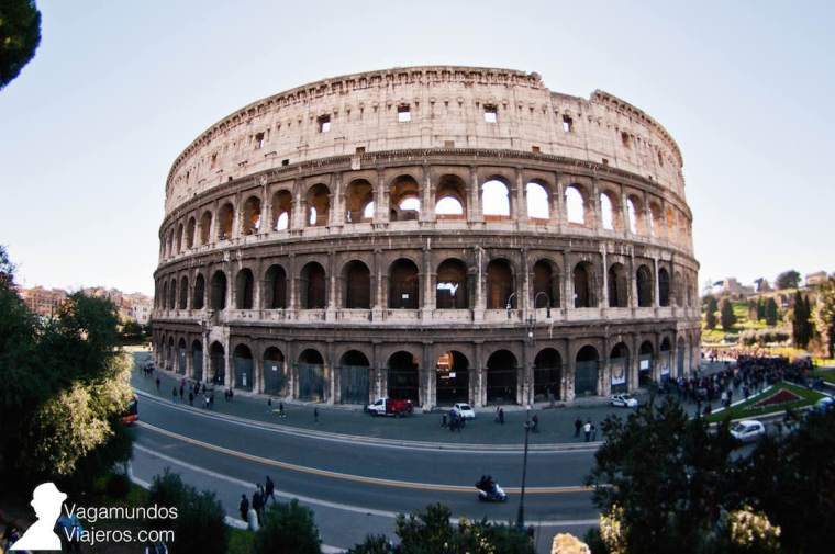 El Coliseo de Roma, una de las 7 maravillas del mundo moderno