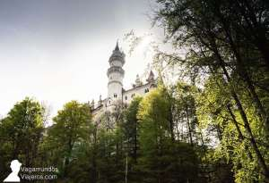 Vistas llegando al castillo Neuschwanstein