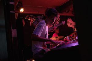 Concierto de jazz en el club La zorra y el cuervo de La Habana