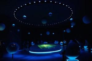 """Exposición """"Universo de Partículas"""" en el Globo de Ciencia e Innovación del CERN"""
