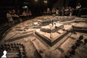 Maqueta 3D de Ginebra en la Maison Tavel