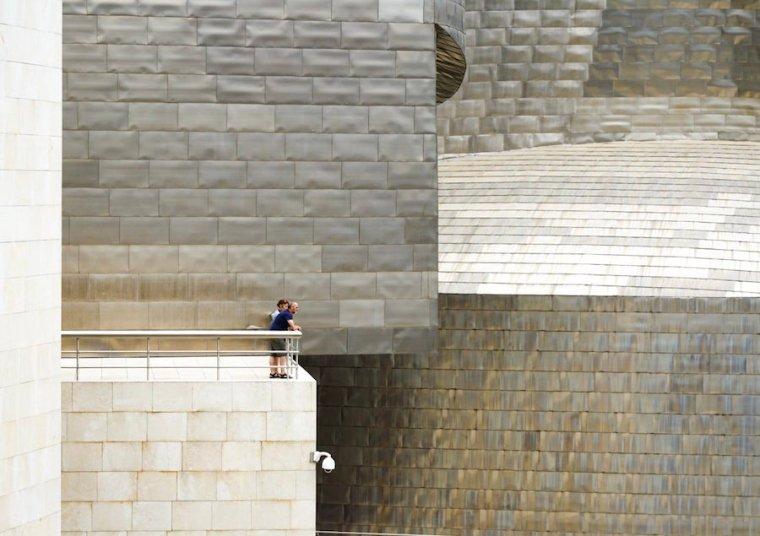 Exterior del edificio Guggenheim Bilbao