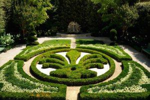 Jardines del Hotel du Caumont en Aix-en-Provence