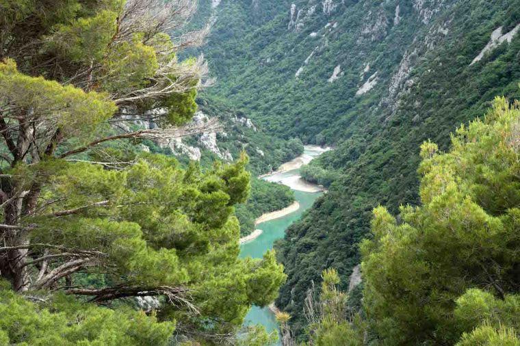 Gargantas del Verdon, en la Provenza francesa