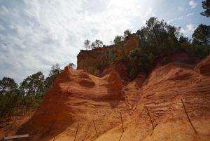 El Sendero de Ocres en Roussillon, Francia