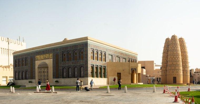 La ciudad cultural de Katara en Doha