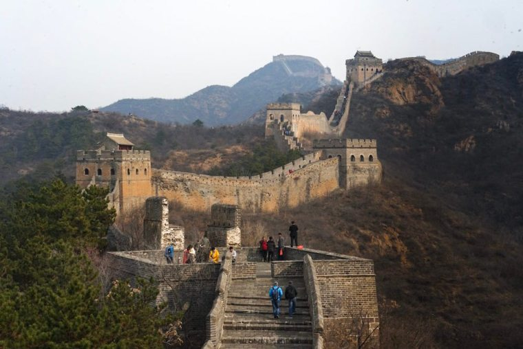 Sección de Jinshanling en la Gran Muralla China