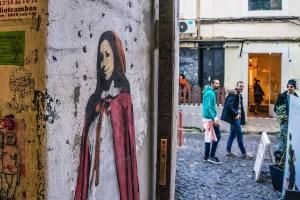 Street art en Lx Factory, Lisboa