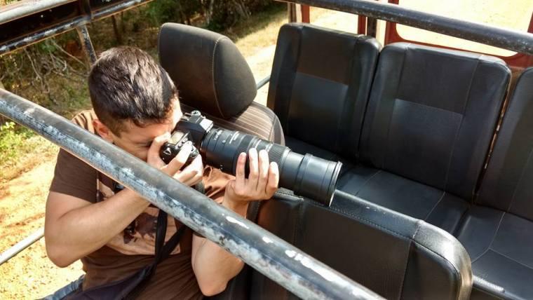 El teleobjetivo es imprescindible si vas a fotografiar animales