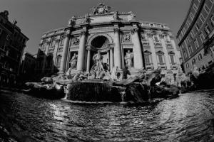 Fontana di Trevi en Roma