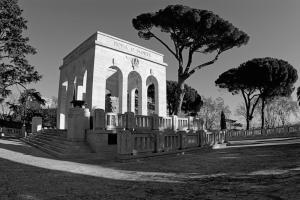 """Monumento a Garibaldi """"Roma o Morte"""""""