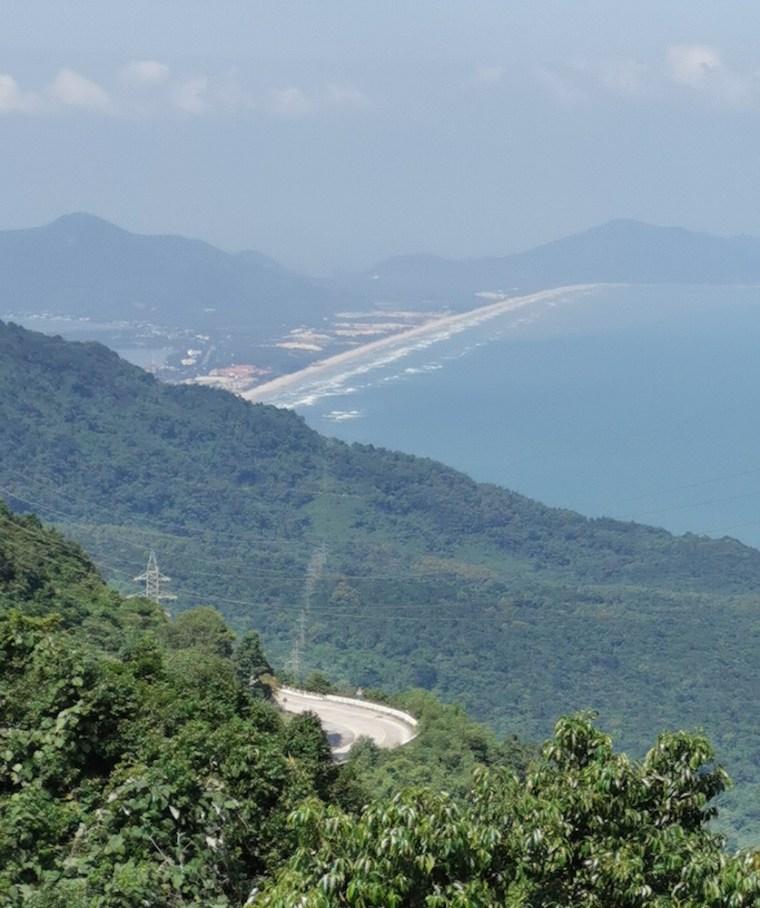 Paso de montaña Hai Van en Danang