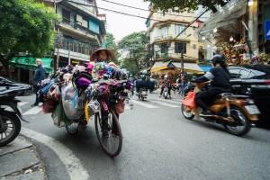 Paseando por las calles del Old Quartet de Hanoi