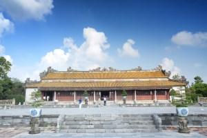 Templo en la Ciudad Imperial de Hue