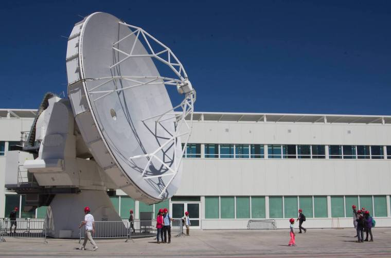Centro de Operaciones de ALMA en el desierto de Atacama