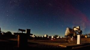 Observatorio astronómico en San Pedro de Atacama, Chile