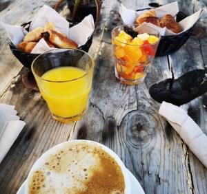 Desayuno en Ohai Nazaré