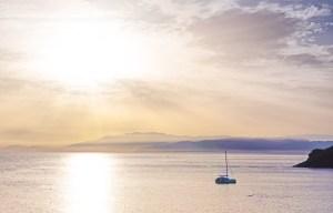 El Mar Mediterráneo en Cabo de Gata, Almería
