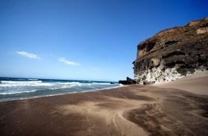 Cala Chica en la ruta de las calas mágicas en Cabo de Gata