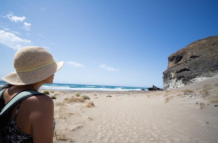 Cala Grande, ruta de las calas mágias en Cabo de Gata