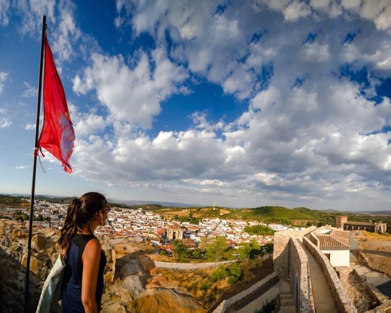 Vistas de Aracena desde su Castillo