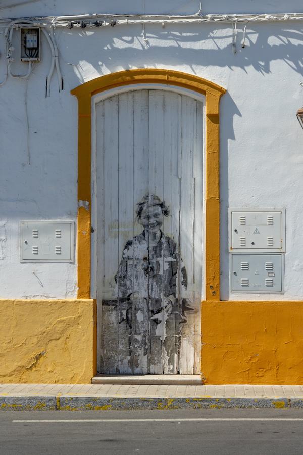 Street art en Ayamonte, Huelva