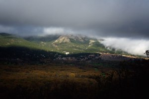 Vistas desde la Silla de Felipe II, El Escorial