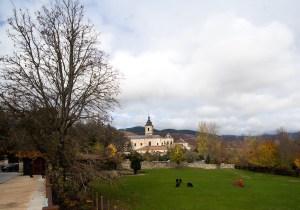 Monasterio de Santa María de El Paular en Rascafría