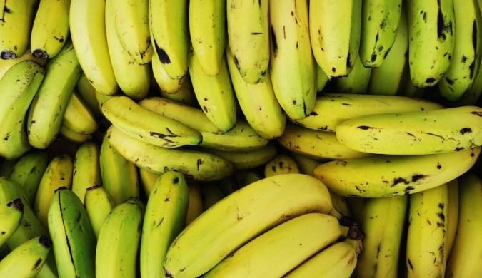 Plátanos canarios en el mercado de Santa Cruz de La Palma