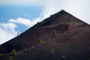 Volcán Martín en la ruta de los Volcanes, La Palma